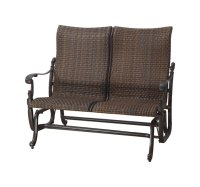 Florence By Gensun Luxury Wicker Patio Furniture High Back ...