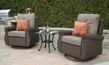 Deep Seating Wicker Patio Furniture Sets