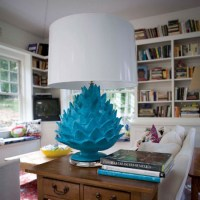 Artichoke Lamp by Jane Gray for Stray Dog Designs