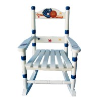 Baseball Rocking Chair - RosenberryRooms.com