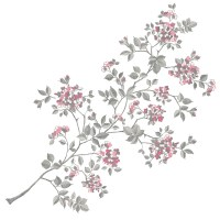 Cherry Blossom Wall Decals - RosenberryRooms.com