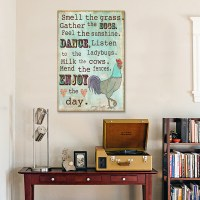 Country Living Canvas Wall Art - RosenberryRooms.com