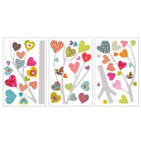Heart Tree Transfer Wall Decals - RosenberryRooms.com