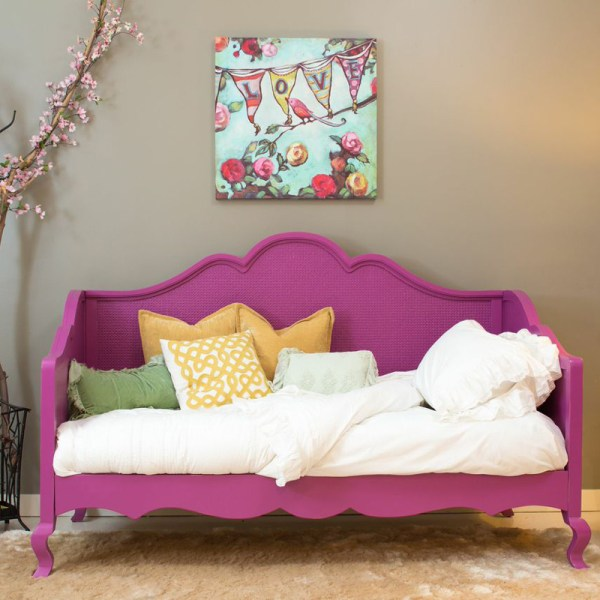 Hilary Twin Day Bed With Caning Newport Cottages