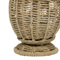 Jute Small Urn Table Lamp by Jamie Young - RosenberryRooms.com