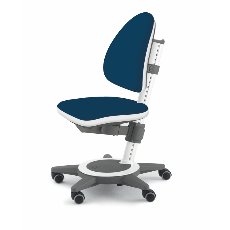 Maximo Adjustable Desk Chair  Navy Blue  RosenberryRoomscom