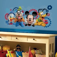 Mickey Mouse Clubhouse Capers Giant Wall Decals ...