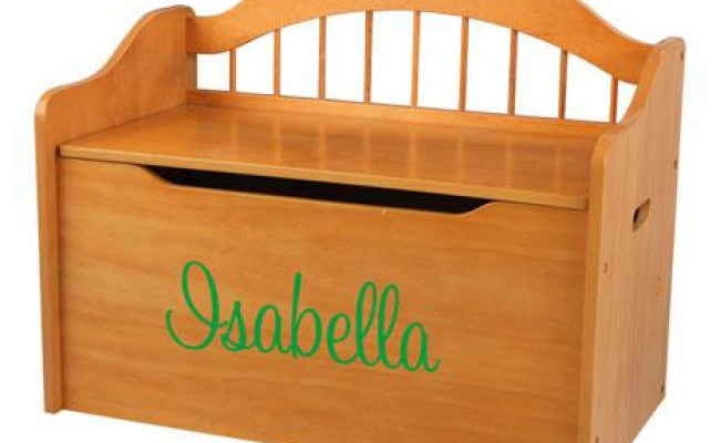 Personalized Limited Edition Toy Box Honey By Kidkraft
