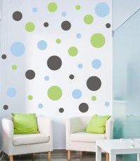 Polka Dots Wall Decal by Alphabet Garden Designs