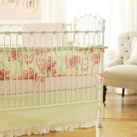 Roses for Bella Crib Bedding Set by New Arrivals Inc.