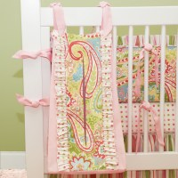 Spring Paisley Crib Bedding Set by Doodlefish ...