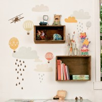 Up Up & Away Fabric Wall Decals by Love Mae ...