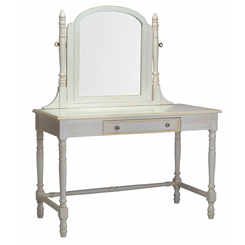 Victorian Vanity Desk with Mirror by Newport Cottages