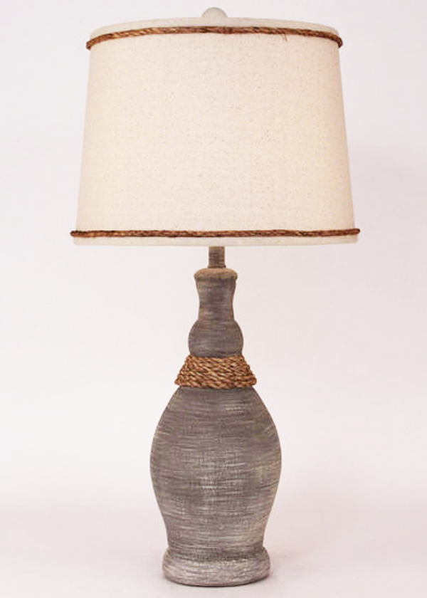 Casual Pot with Rope Lamp for Sale