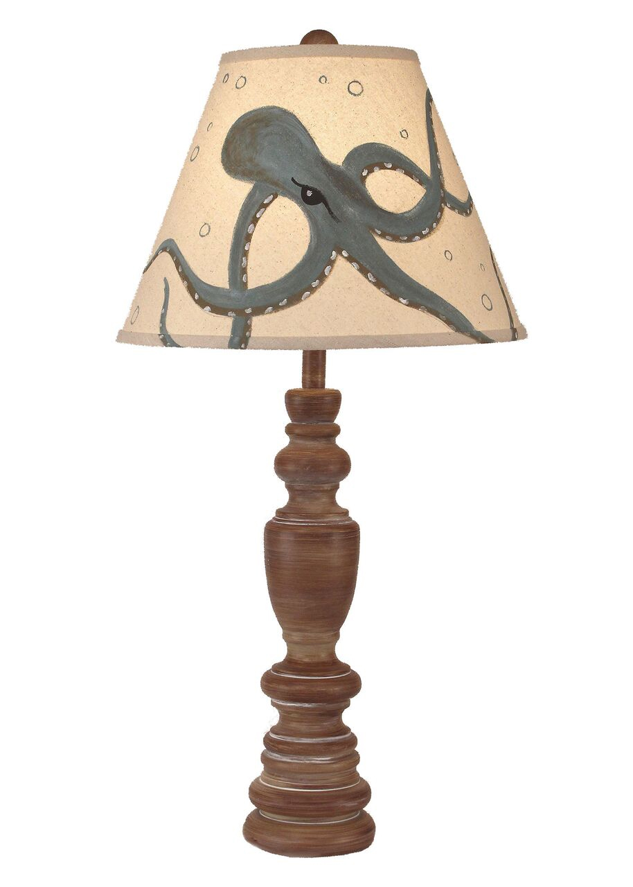 Multi Ring Casual Pot Table Lamp for Sale