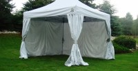 Undercover CRS Polyester Canopy Sidewall Enclosure Kit ...