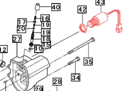 ELECTRICAL SYSTEM PARTS FOR MAX 28 XL MAHINDRA TRACTOR