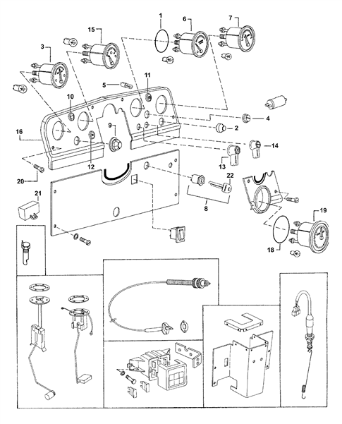 FUEL SYSTEM PARTS FOR 3505 MAHINDRA TRACTOR