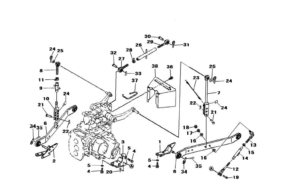 3-POINT LIFT & HYDRAULIC PARTS FOR 2615 MAHINDRA TRACTOR