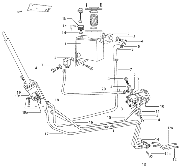 Ford 1715 Tractor Wiring Diagram Steering Amp Front Axle Parts For 5500 2 Wheel Mahindra Tractor
