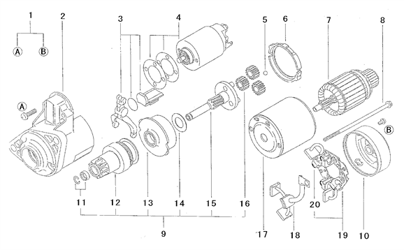 ELECTRIAL PARTS FOR 3215 MAHINDRA TRACTOR