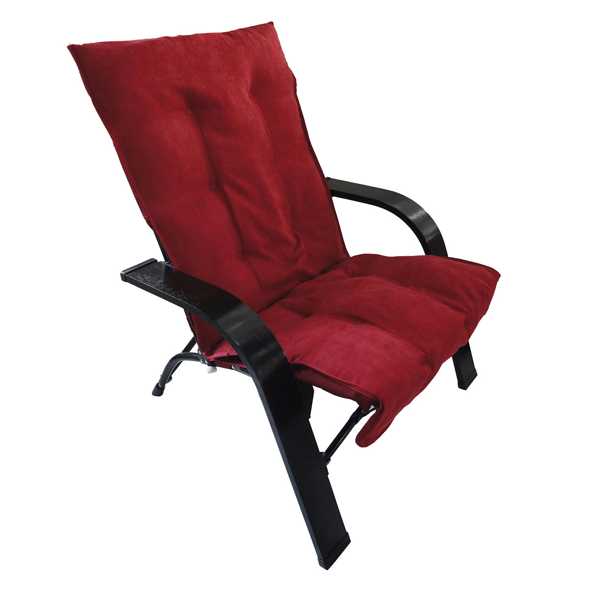 International Caravan Folding Chair with Wooden Arms FREE