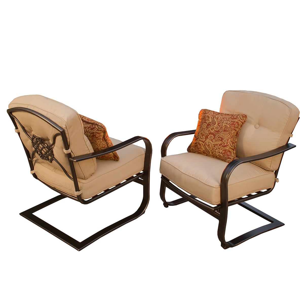 Oakland Living Heritage Deep Seating Cushioned Spring