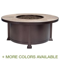 OW Lee Casual Fireside Santorini 42 Inch Round Occasional ...