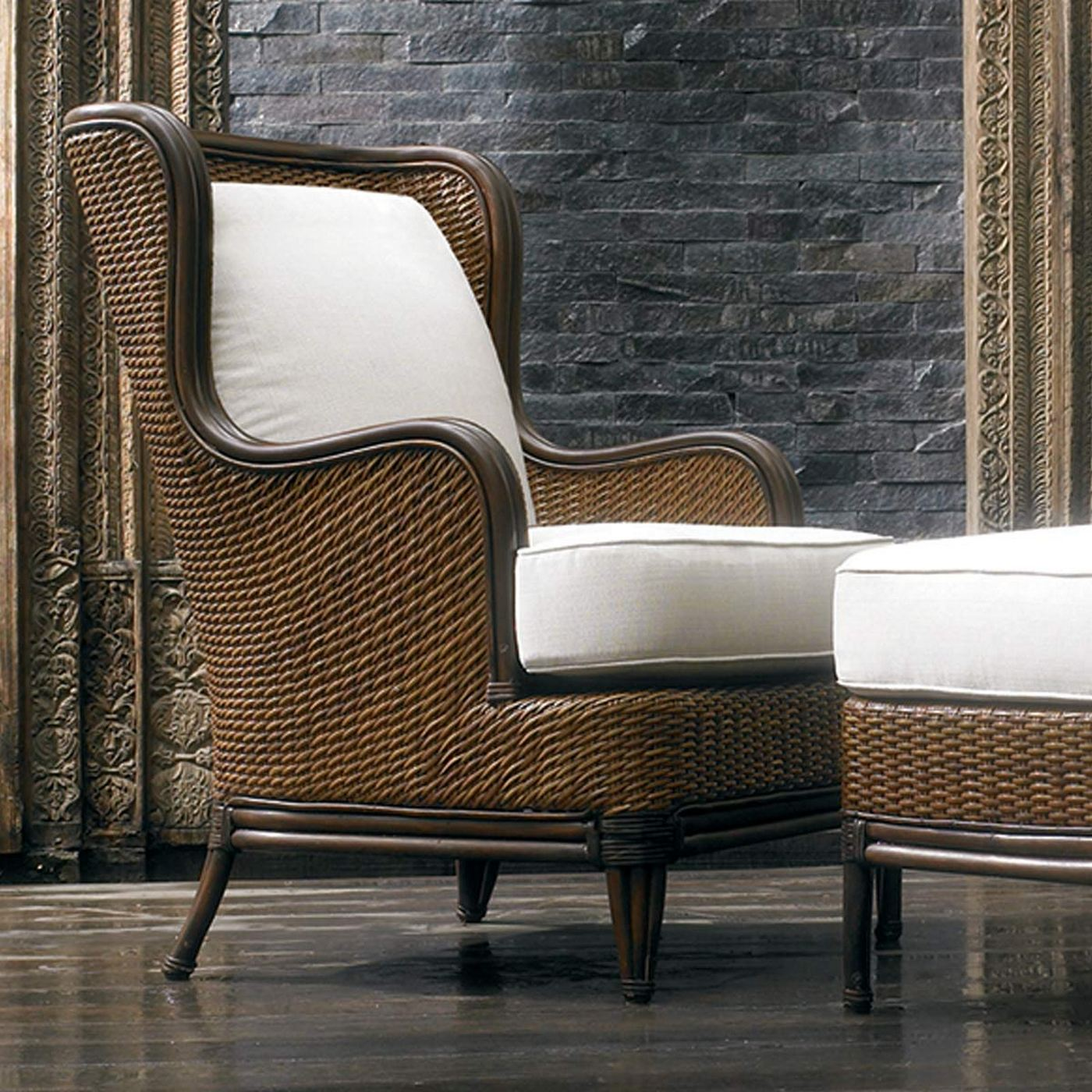 antique beach chair accent with wood arms padma s plantation outdoor palm lounge in natural