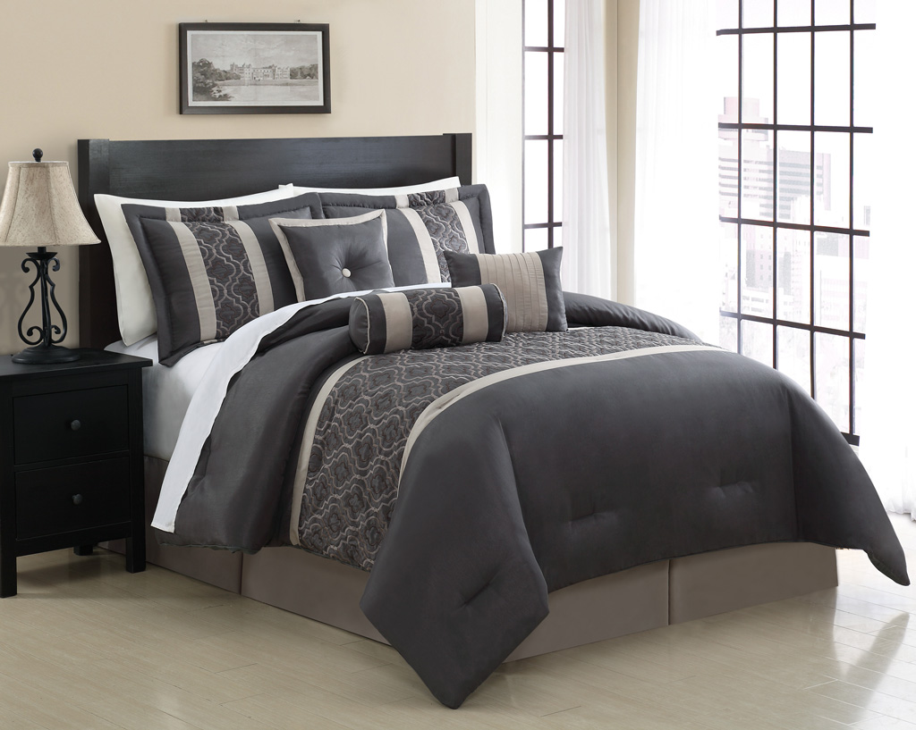 11 Piece Renee Embroidered Bed In A Bag Set