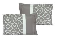 11 Piece Ladera Gray Bed in a Bag Set