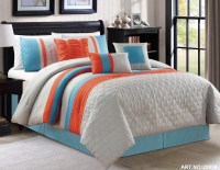 The gallery for --> Orange And Gray Bedding