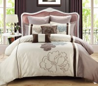 Comforter Set Blue Taupe - Free Sexy Butt