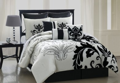 Black And White Queen Bedding