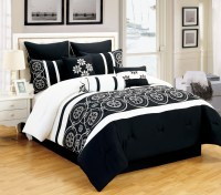 Black And White Comforter Sets King Pictures to Pin on ...