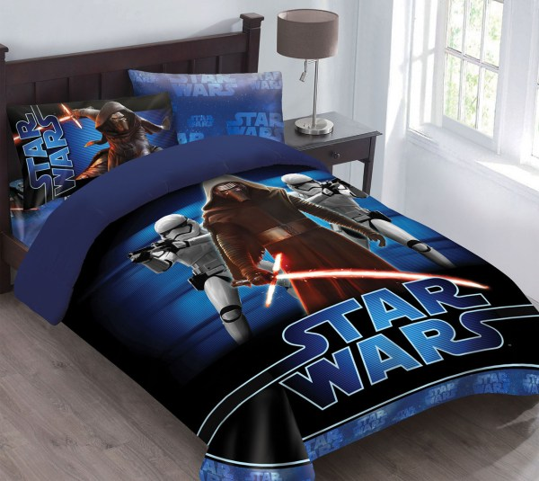 Star Wars Force Awakens Comforter Set With Fitted Sheet