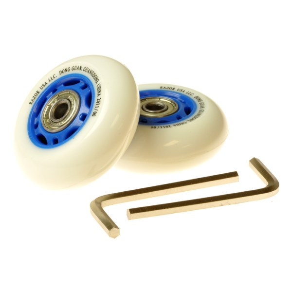 Mm Wheels With Bearings Razor Ripstik Ripster And