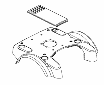 Shroud Assembly for Jazzy 1101/1121 with Standard Seating