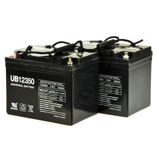 Electric Scooter Parts 12 Ah 24 Volt Agm Battery Pack Compatible