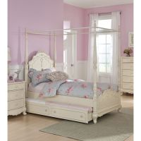 twin canopy beds for girls - 28 images - canopy girls twin ...