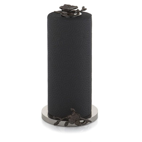 Black Orchid Michael Aram Paper Towel Holder