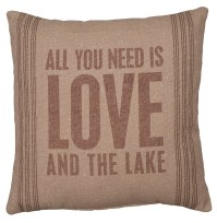 And The Lake Pillow - Primitives by Kathy