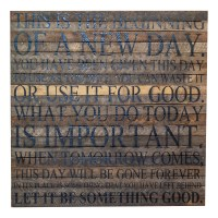 "Beginning Of A New Day 28"" x 28"" Wall Art - Original Wood ..."