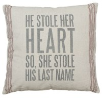 Last Name Pillow - Primitives by Kathy