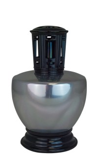 Silver Metal Scentier Fragrance Lamp