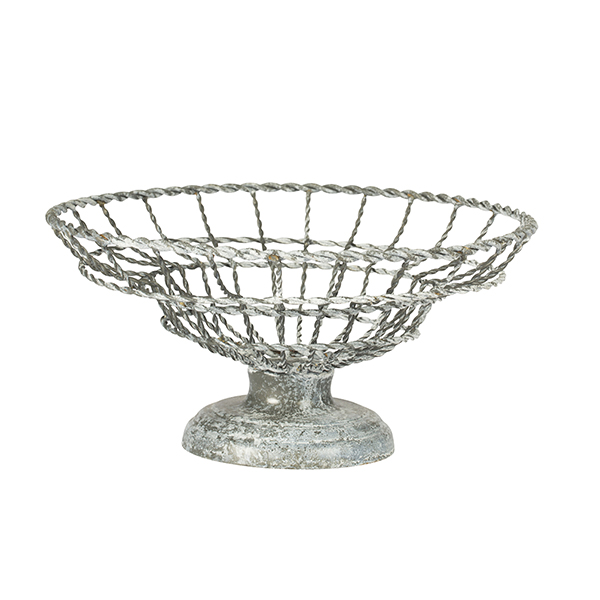 Wire Fruit Bowl by Aidan Gray