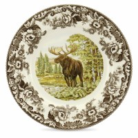 Woodland Moose Dinner Plate by Spode