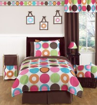Deco Dot Modern Teen Bedding - 3pc Full / Queen Set only ...