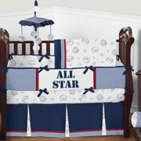 Solid Color Crib Bedding in Pink, Blue & More!