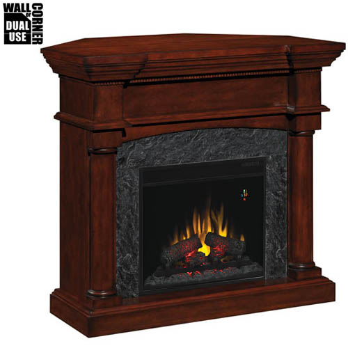 Corner Electric Fireplace With Mantel Electric Fireplace, Electric Fireplaces, Wall Mount